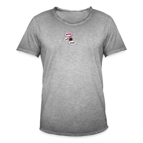 Boom - Männer Vintage T-Shirt