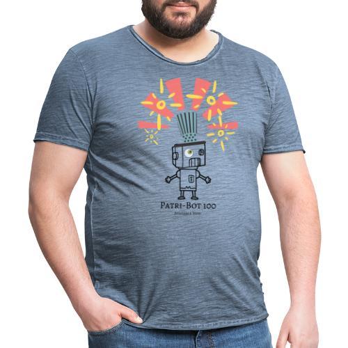 Patri-Bot 100 - Men's Vintage T-Shirt