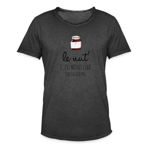 Le Nut' - T-shirt vintage Homme