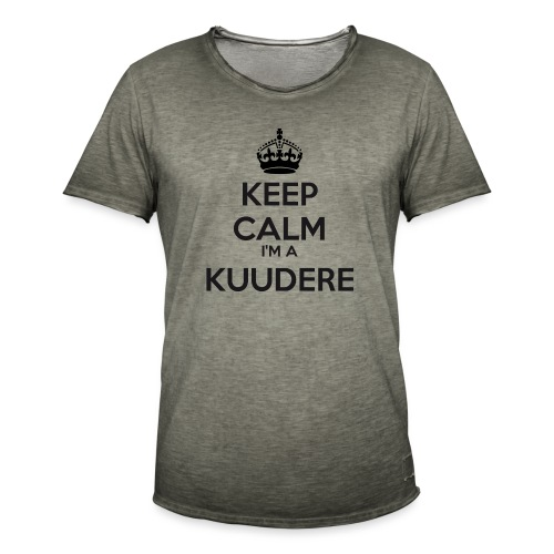 Kuudere keep calm - Men's Vintage T-Shirt