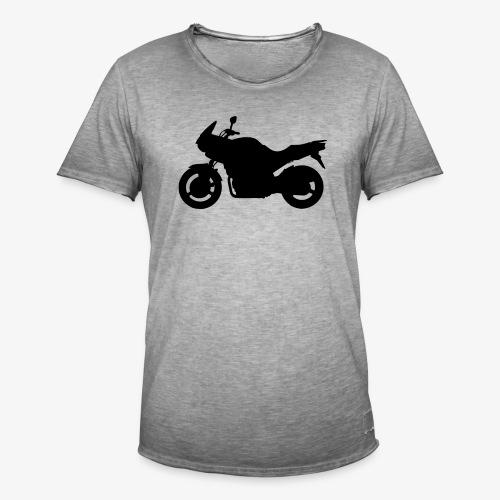 TDM 900 Silhouette - Mannen Vintage T-shirt