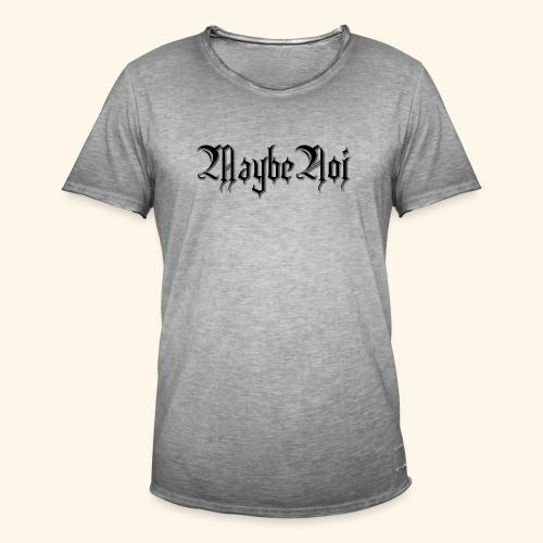 MaybeNoi Design - Männer Vintage T-Shirt