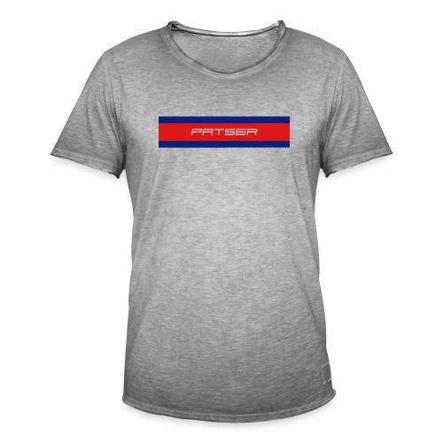 PATSER - Mannen Vintage T-shirt