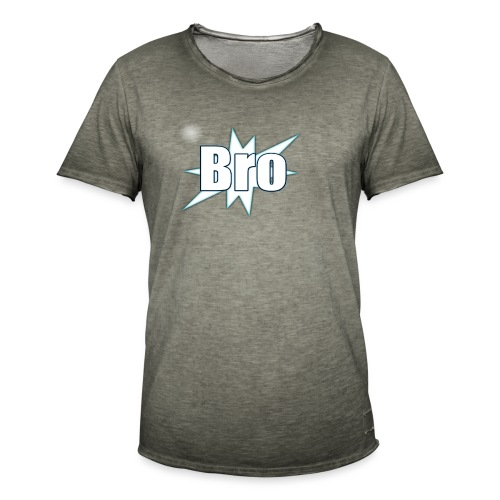 Bro hats and shirts - Herre vintage T-shirt