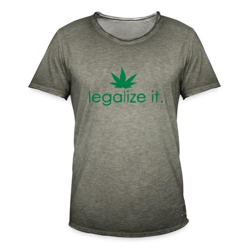 LEGALIZE IT! - Men's Vintage T-Shirt