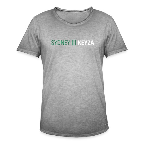 Sydney 3 Logo - Männer Vintage T-Shirt