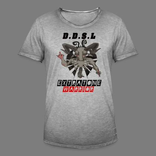DDSL E W M.A.X - Mannen Vintage T-shirt