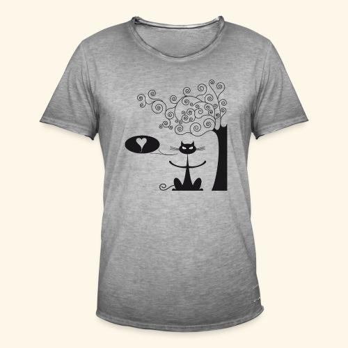 déclaration amour II - T-shirt vintage Homme