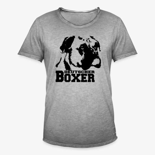 Deutscher Boxer - Männer Vintage T-Shirt
