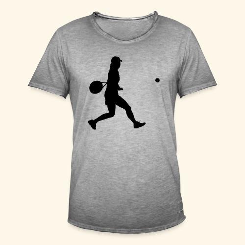 tennis woman 2 - T-shirt vintage Homme