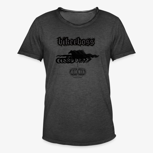 horsebiker - T-shirt vintage Homme