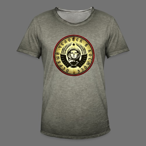 Cosmonaut 4c retro - Men's Vintage T-Shirt