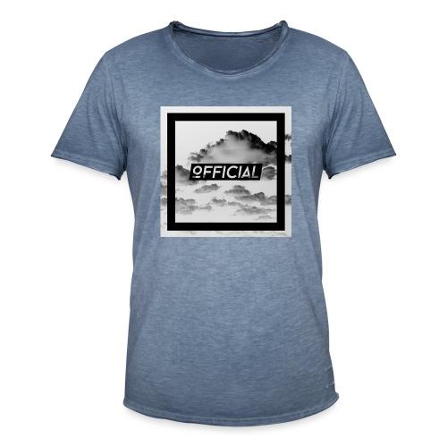 Official T - White Cloud Version - Men's Vintage T-Shirt