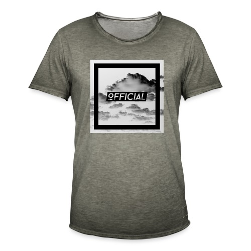 Official T - White Cloud Version - Men's Vintage T-Shirt