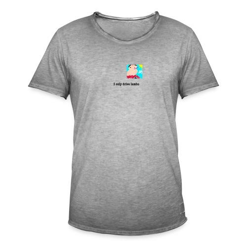 t shirt2 - Vintage-T-shirt herr