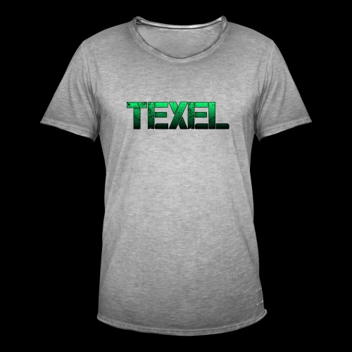 Texel - Mannen Vintage T-shirt
