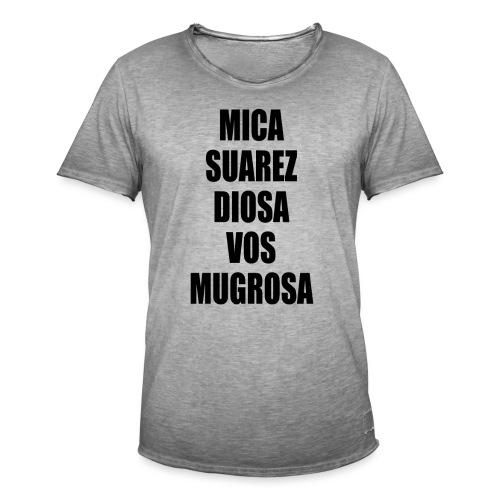 Polo Mica Suarez Diosa Vos Mugrosa - Camiseta vintage hombre