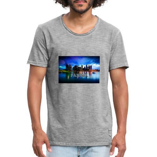 Panamá - Camiseta vintage hombre