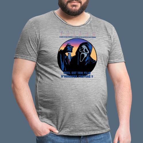 Collection Sandy.M 2021/2022 (Scream) - T-shirt vintage Homme