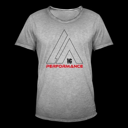 LA Performamce black/red - Männer Vintage T-Shirt