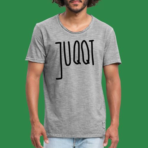 juqqt - Männer Vintage T-Shirt