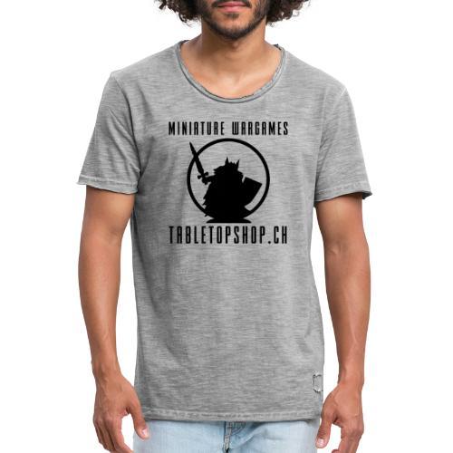 MiniatureWargamesLogo neu2 pfad - Männer Vintage T-Shirt