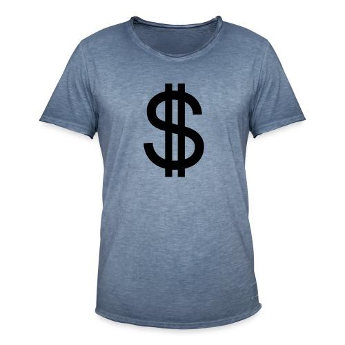 Dollar - Camiseta vintage hombre