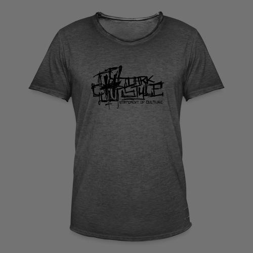 Tumma Style - Statement of Culture (musta) - Miesten vintage t-paita