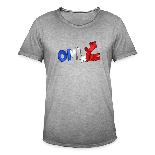 Logo ONLY KING edition francaise - T-shirt vintage Homme