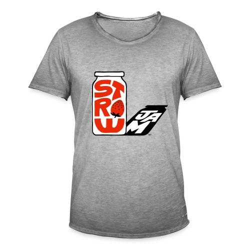 Strawjam: bote y sombra - Camiseta vintage hombre