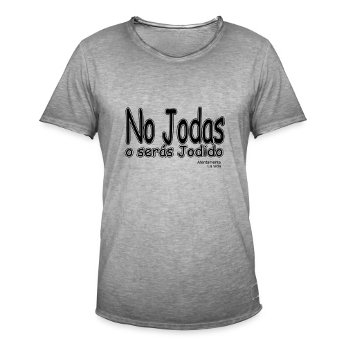 joder - Camiseta vintage hombre