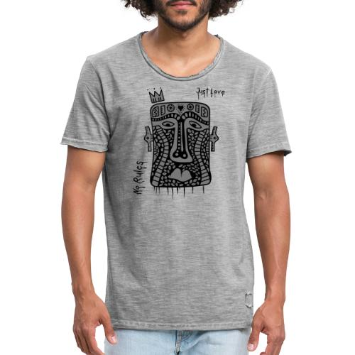No Rules Just Love by BuBu Collection - Men's Vintage T-Shirt