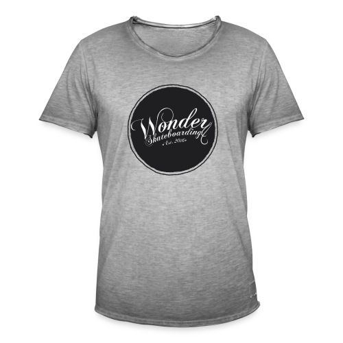 Wonder T-shirt - oldschool logo - Herre vintage T-shirt