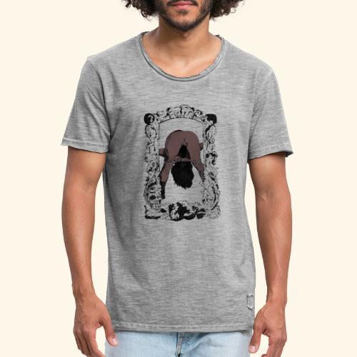 please rephrase the question - Men's Vintage T-Shirt