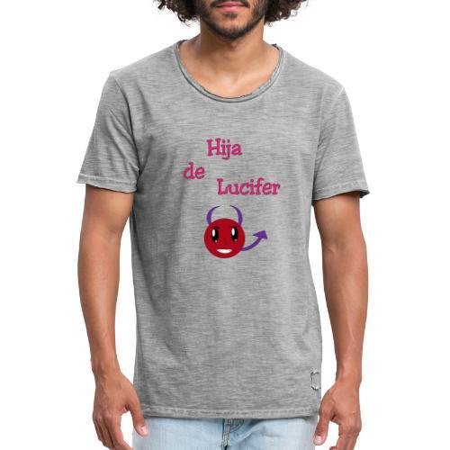 Hija de Lucifer - Männer Vintage T-Shirt