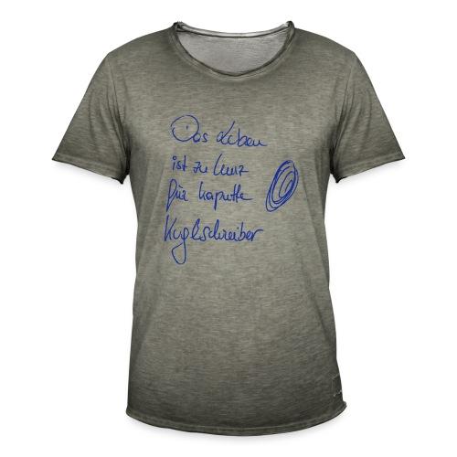 kaputte kugelschreiber - Männer Vintage T-Shirt