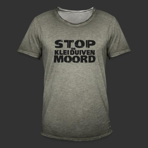 kleiduivenmoord - Mannen Vintage T-shirt