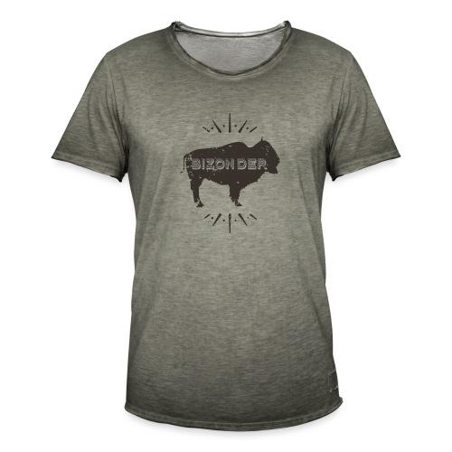 Bizonder - Mannen Vintage T-shirt