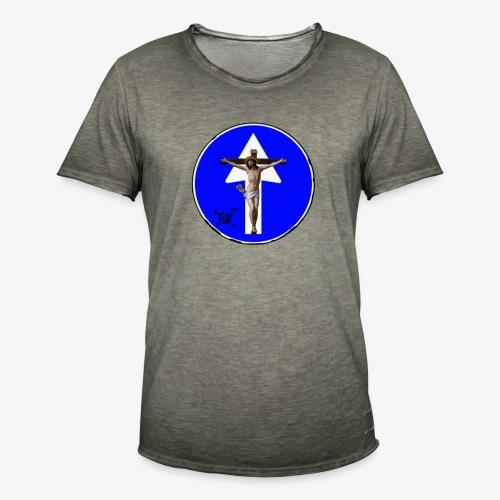 Gesù - Maglietta vintage da uomo