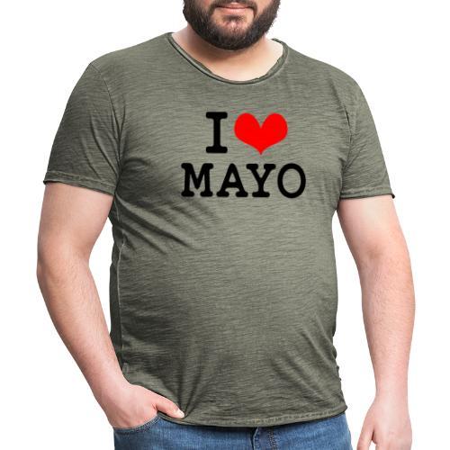 I Love Mayo - Men's Vintage T-Shirt