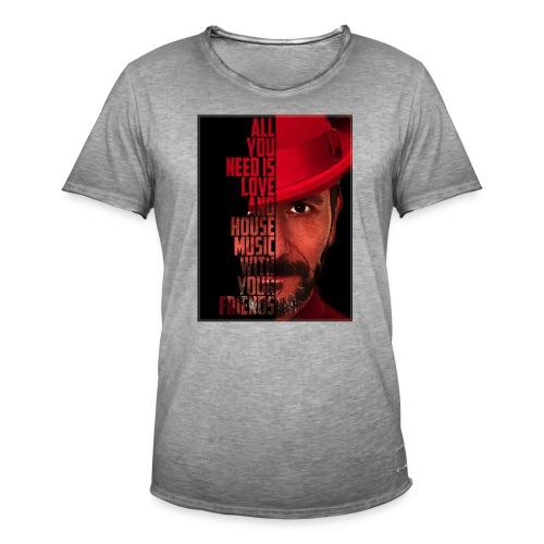 All U NEED - Männer Vintage T-Shirt