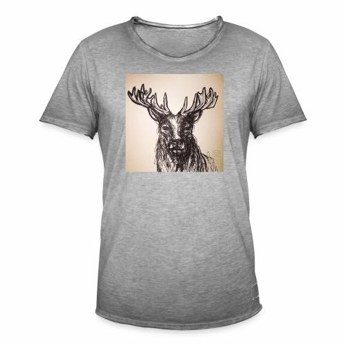 deer crown - Männer Vintage T-Shirt