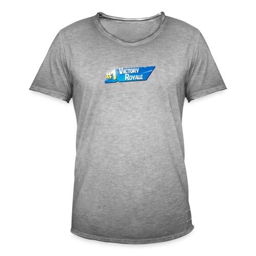 Victory Royale #1 - Herre vintage T-shirt