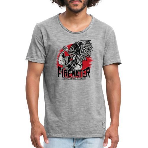 Firewater - Trinkingcrew - Männer Vintage T-Shirt