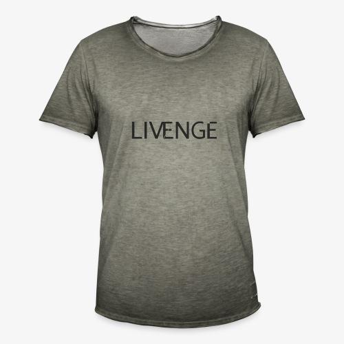 Livenge - Mannen Vintage T-shirt