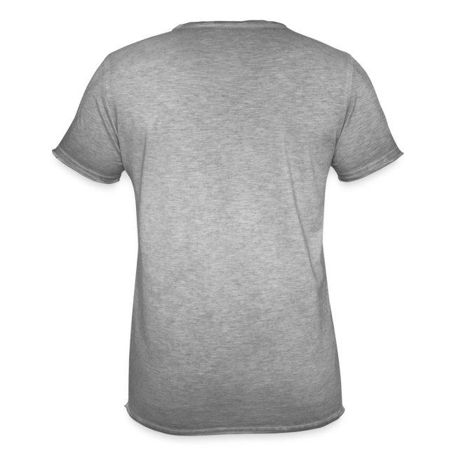 Vorschau: Echte Männer haben Katzen - Männer Vintage T-Shirt