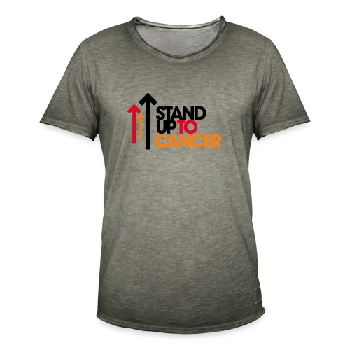 stand up to cancer logo - Men's Vintage T-Shirt