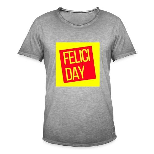 Feliciday - Camiseta vintage hombre