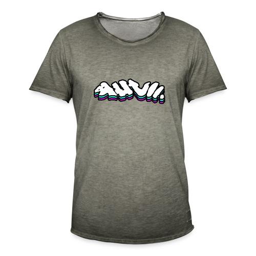 AHVII   Get Spacey - Mannen Vintage T-shirt