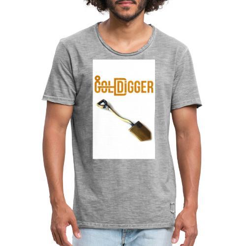 Design fa ra titlu 51 - Männer Vintage T-Shirt